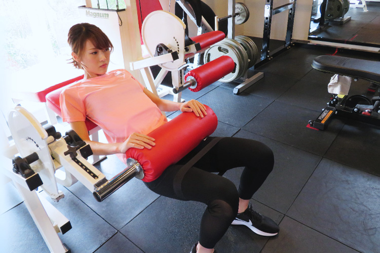 楽一は女性限定のトレーニングジムです。